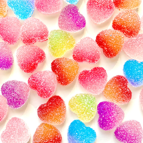 Sugar Heart Candy Charms