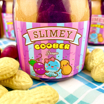 Slimey Goober Grape Cloud Creme Slime