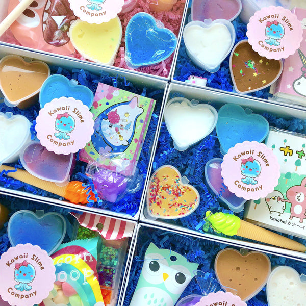 Kawaii Slime Company Sampler Box