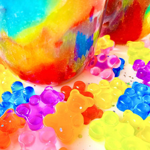 Gummy Bear Slushee Jelly Slime