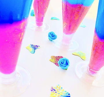 Butterfly Pea Lemonade Slime Drink