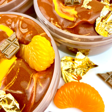 Chocolate Orange Fondue Slay Slime
