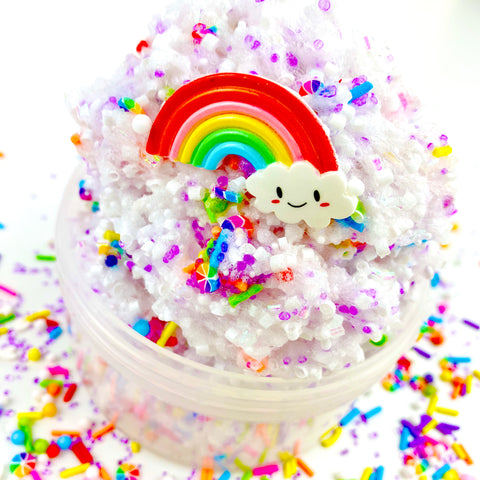 Rainbow Chip Bingsu Floam Slime