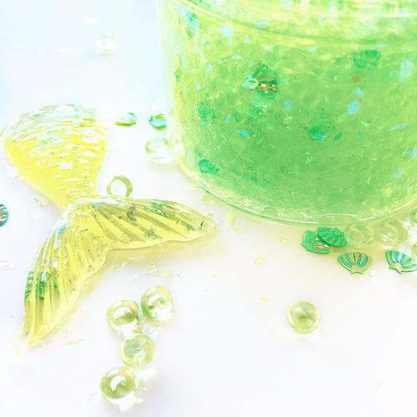 Green Goddess Sugar Scrub Slime