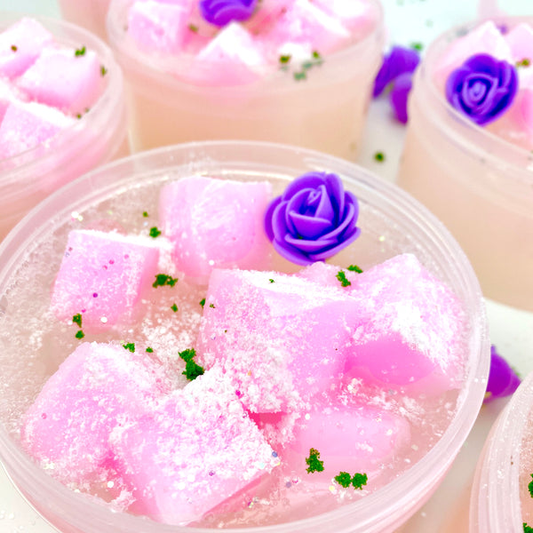 Kawaii Delight Jelly Cube Slime