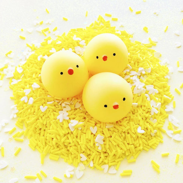 Cute Kawaii Chicks Clear Slime