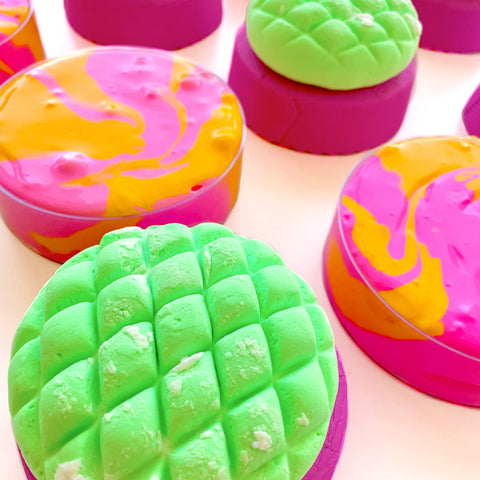 Melon Pan Clay Slime Duo