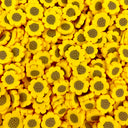 Sunflower Fimo Sprinkles