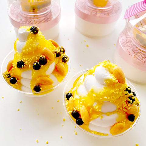 Honey Almond Boba Ice Cream Slime Kit