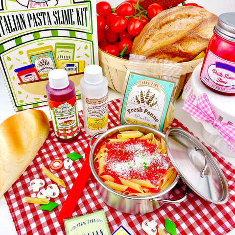 Shelly's Italian Pasta DIY Slime Kit