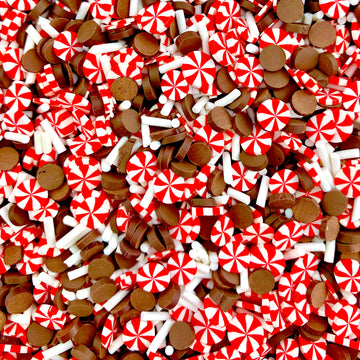 Peppermint Hot Cocoa Long Cut Sprinkles