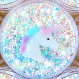 Unicorn Bubble Bath Floam Slime