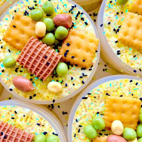 Wasabi Cracker Mix Crunchy Slime