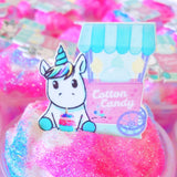 Unicorn Candy Fluff Cloud Slime
