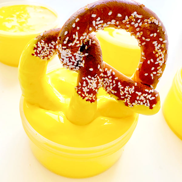Soft Pretzel & Cheezy Goo Slime Duo