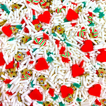Merry, Beary & Bright Long Cut Sprinkles
