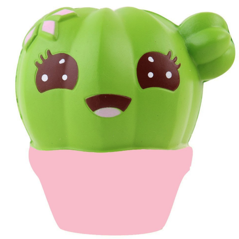 Happy & Cute Cactus Squishy