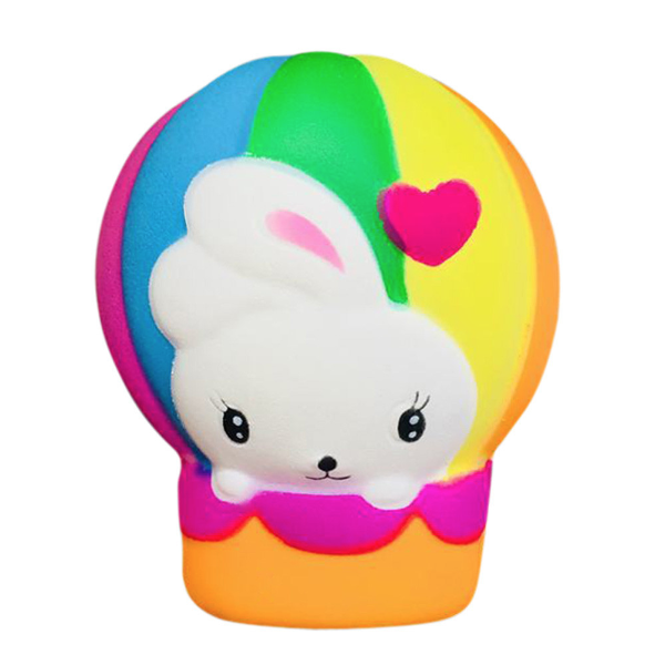 Bunny Hot Air Balloon Squishy