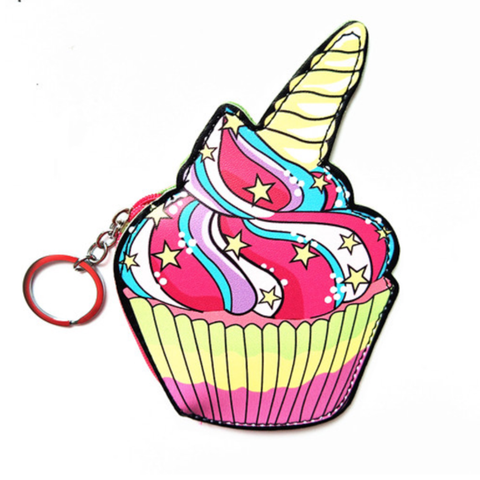Unicake Keychain Coin Purse
