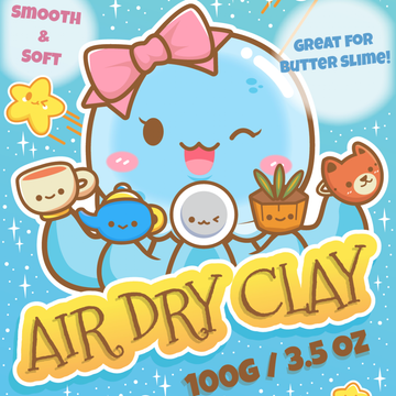 Air Dry Clay - 24 Amazing Colors