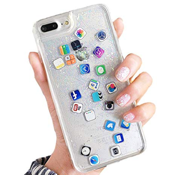 iPhone Apps Liquid Cell Phone Case