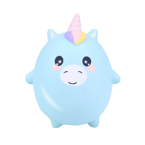 Lil Round Unicorn Squishy
