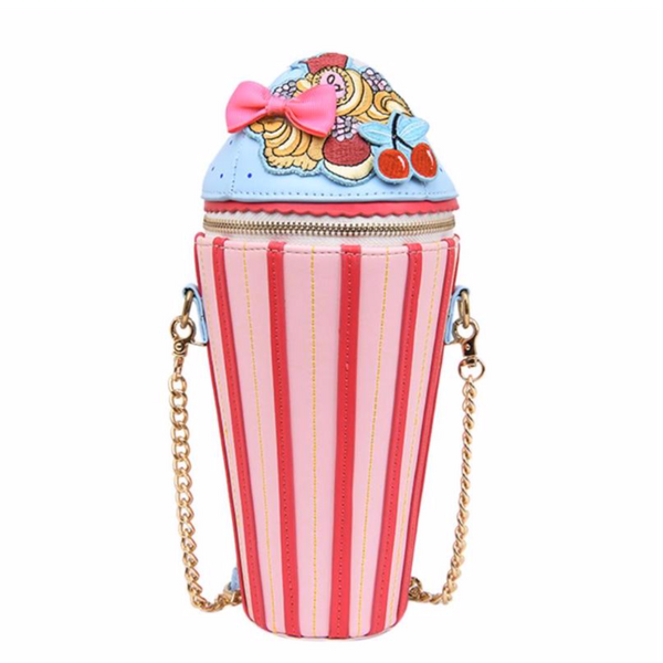 Cute Cupcake Cross Body Bag