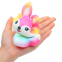 Pretty Fox Rainbow Squishy