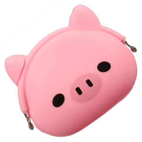 Oink Oink Pink Pig Coin Purse