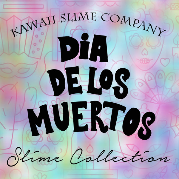 Dia De Los Muertos Slime Collection Set