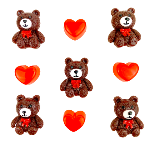 Bears & Hearts Grab Bag Charms
