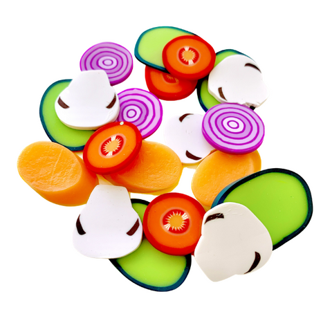 Veggie Salad Mix Charms Grab Bag