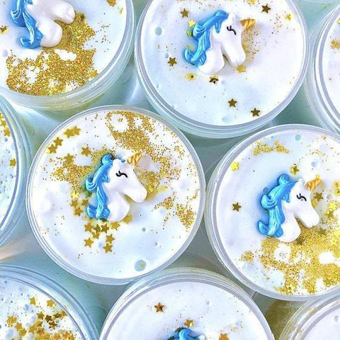 Dreamy Unicorn Whipped Butter Slime