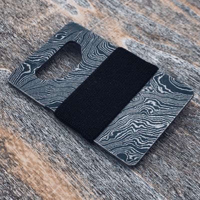 Damascus Steel Wallet
