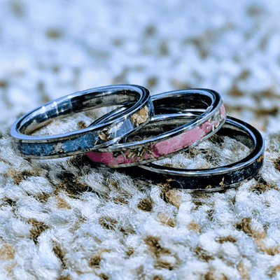 Stackable Women's Glow Rings!