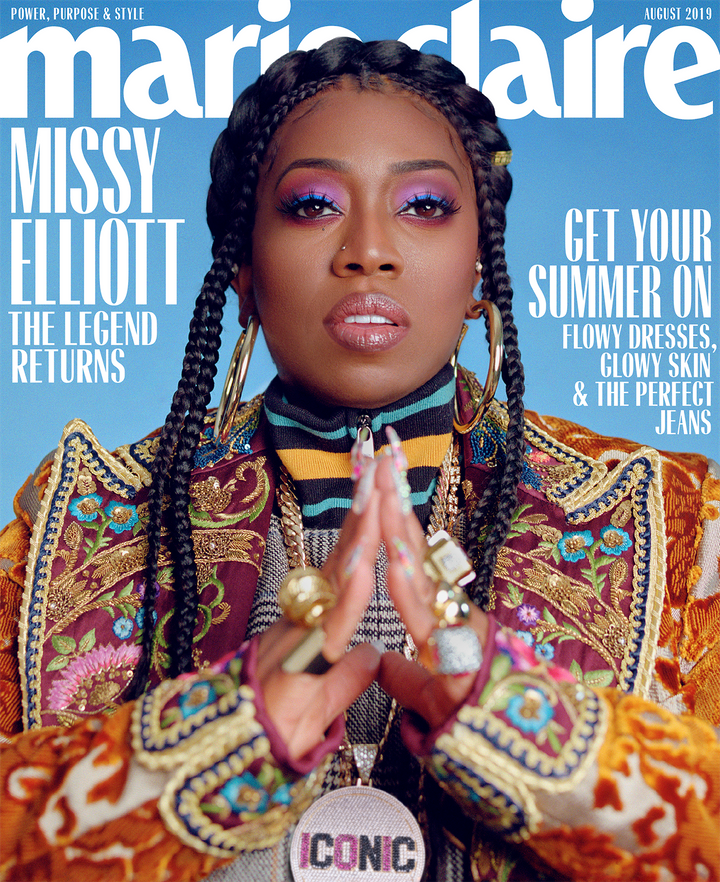 Marie Claire Cover // Missy Elliot