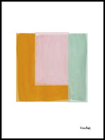 Poster: Abstract square, av Elina Dahl