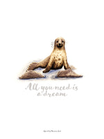 Poster: All you need is a dream (Seal), av Ekkoform illustrations