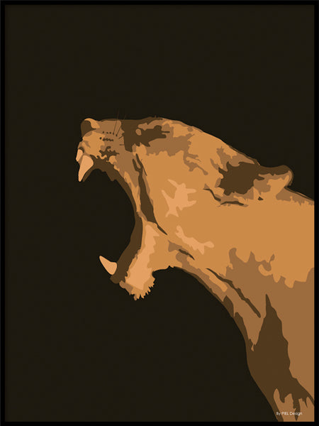 Poster: Animal #18, av PIEL Design