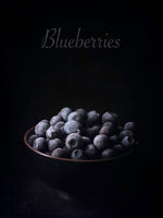 Poster: Blueberries, av LO Art Design