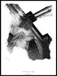 Poster: Brooklyn Bridge, av Ingrid Kraiser - ingrid art design