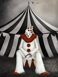 Poster: Cirkus, Clown, av Majali Design & Illustration