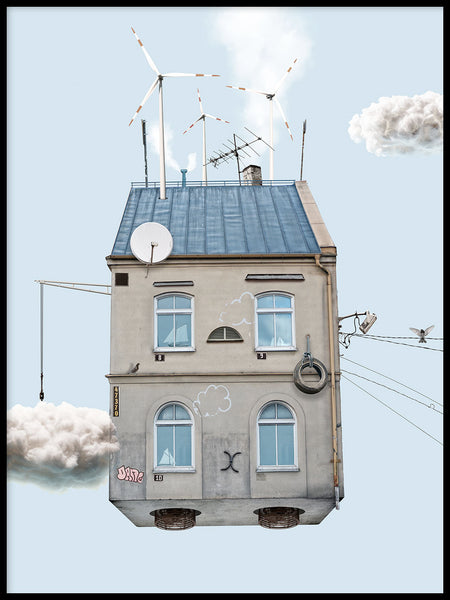 Poster: Cloud Collector, av Meanwhile In Nowhere