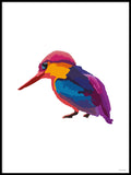 Poster: Colorful Birds #38, av PIEL Design