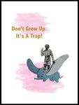 Poster: Don't grow up!, av Marievictoria Design