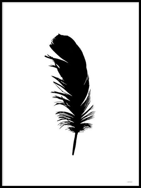Poster: Feather I, av Wintherland