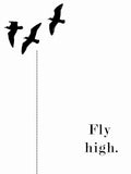 Poster: Fly High, av Anna Mendivil / Gypsysoul