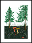 Poster: Forest Dance, av Susse Collection