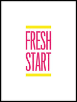 Poster: Fresh Start, av Esteban Donoso