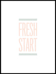 Poster: Fresh Start, pastel, av Esteban Donoso